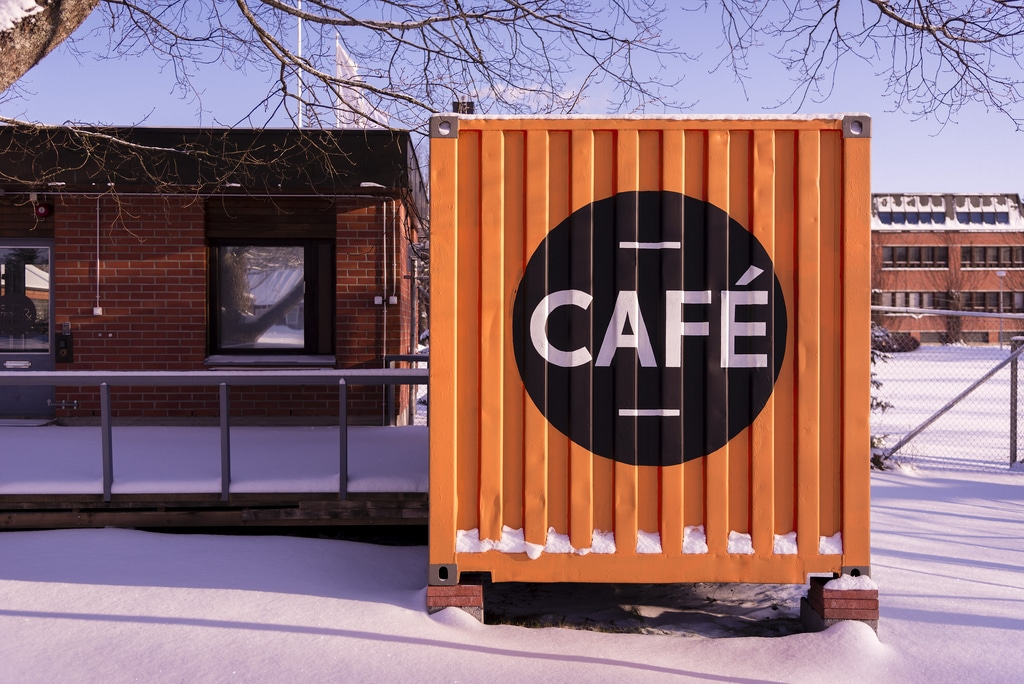 container Cafes photo